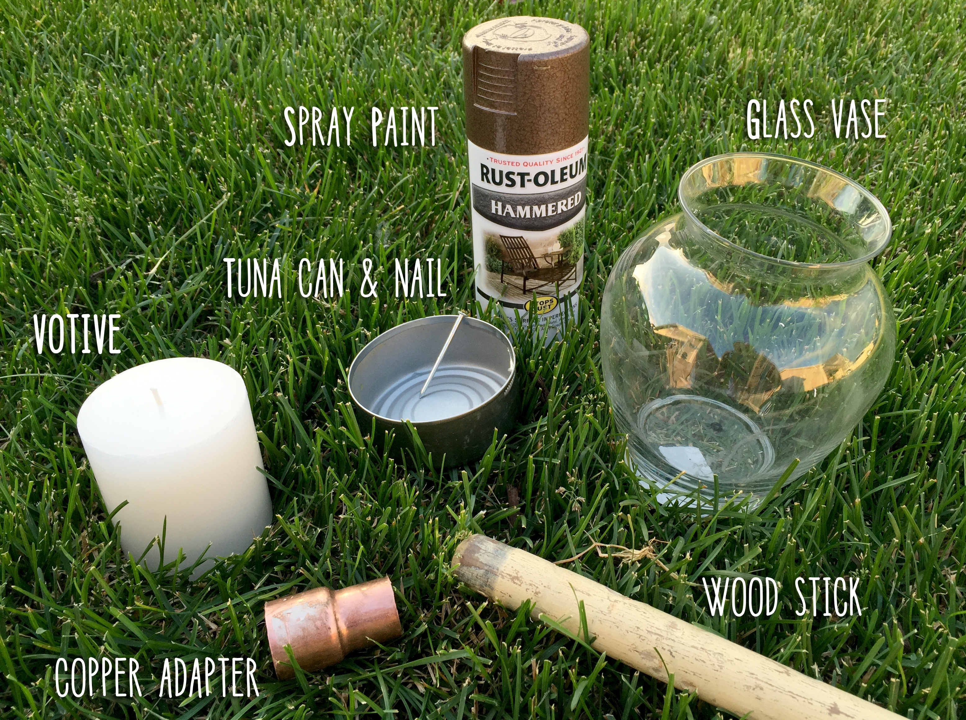 Diy Outdoor Votive Lantern – Goodwillindy for Outdoor Lanterns And Votives (Image 8 of 20)
