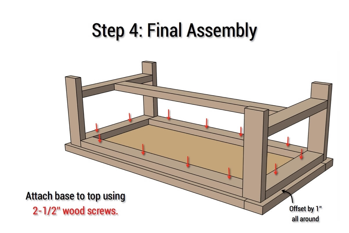 Diy Parquet Coffee Table { Free Plans } Rogue Engineer inside Parquet Coffee Tables (Image 9 of 30)
