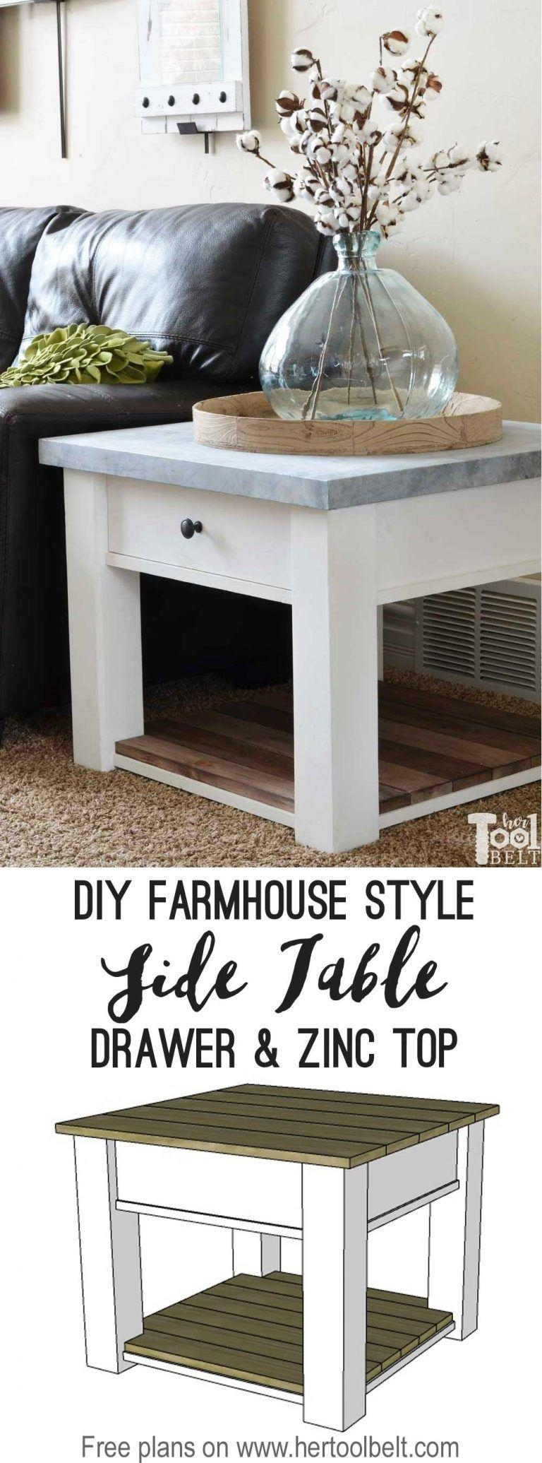 Diy Side Table Fresh 22 Coffee Table Woodworking Projects Worth with Fresh Cut Side Tables (Image 7 of 30)