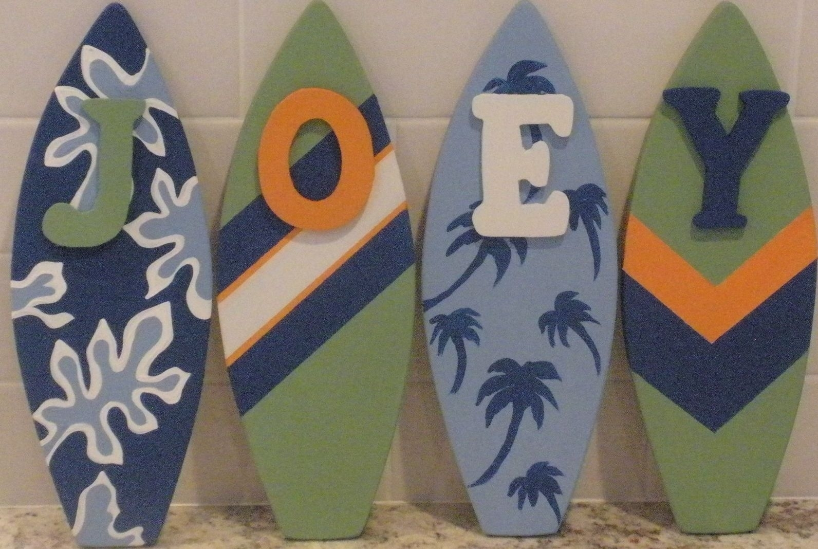 Diy Surfboard Wall Décor Ideas — Room Decor : How To Select Pertaining To Surfboard Wall Art (View 4 of 20)