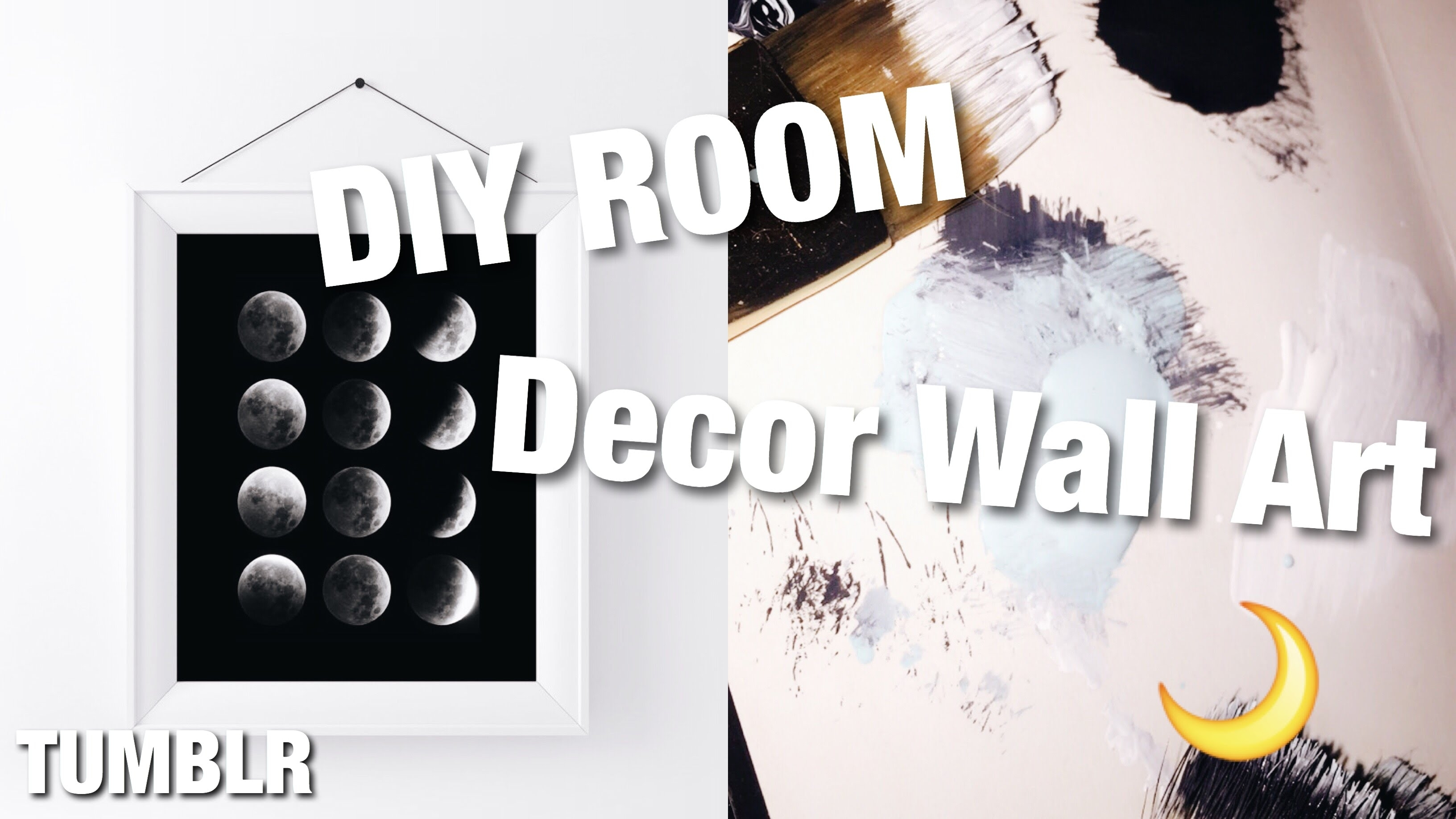 Diy Tumblr Wall Art 2016 / Fun And Easy – Youtube In Tumblr Wall Art (View 4 of 20)