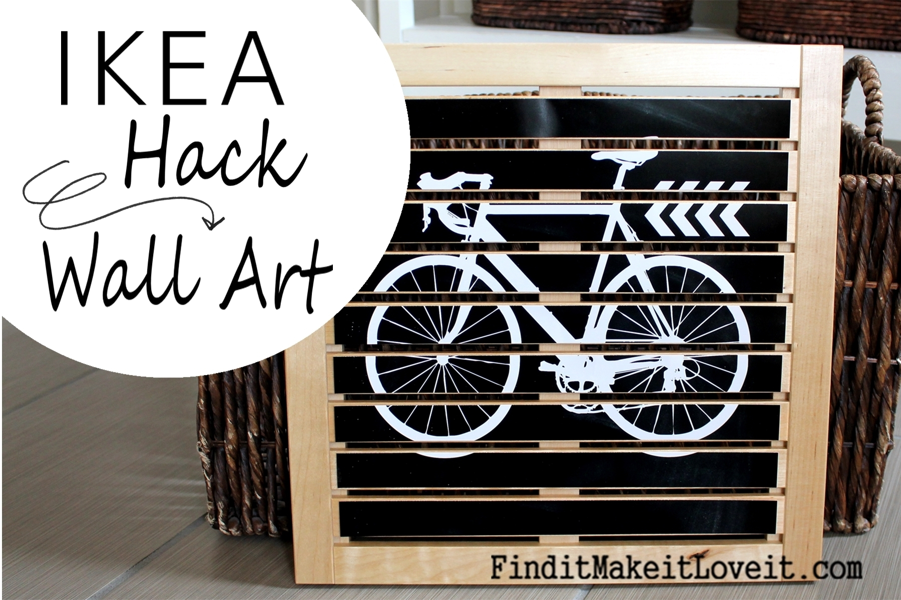Diy Wall Art (Ikea Hack) - Find It, Make It, Love It in Ikea Wall Art (Image 5 of 20)