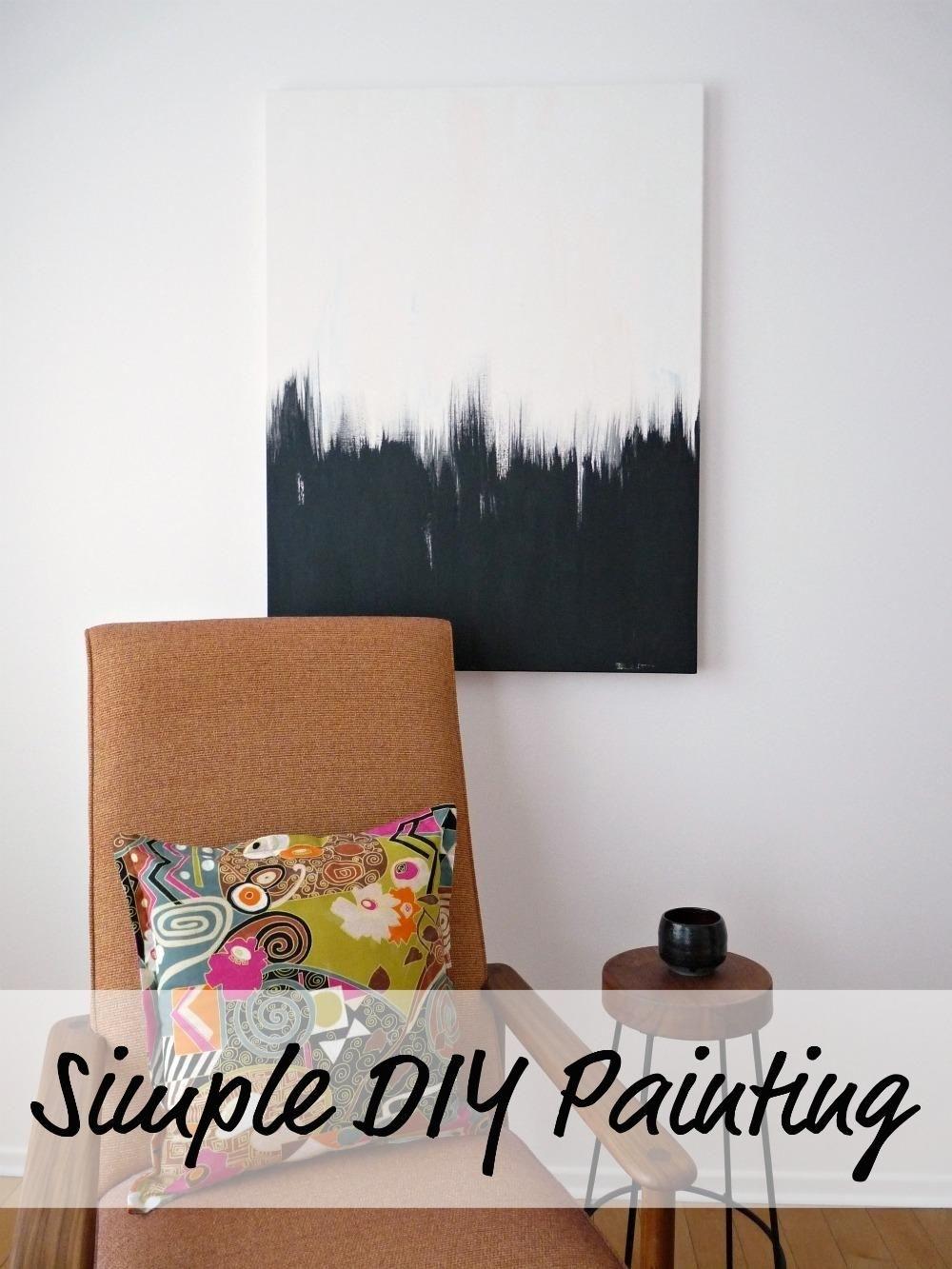 Diy Wall Art: Simple But Striking Diy Black And White Wall Art with Black And White Wall Art (Image 11 of 20)