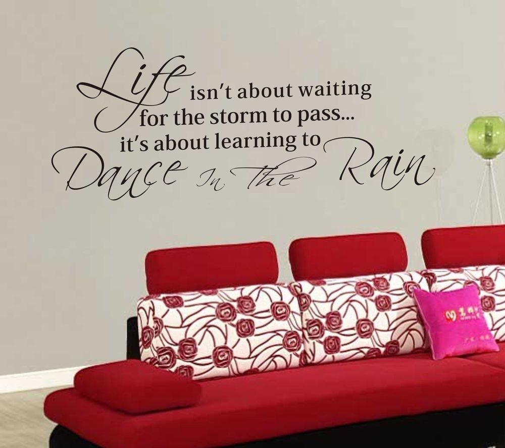 Download Life Quote Wall Stickers | Ryancowan Quotes Inside Inspirational Wall Art (View 8 of 20)