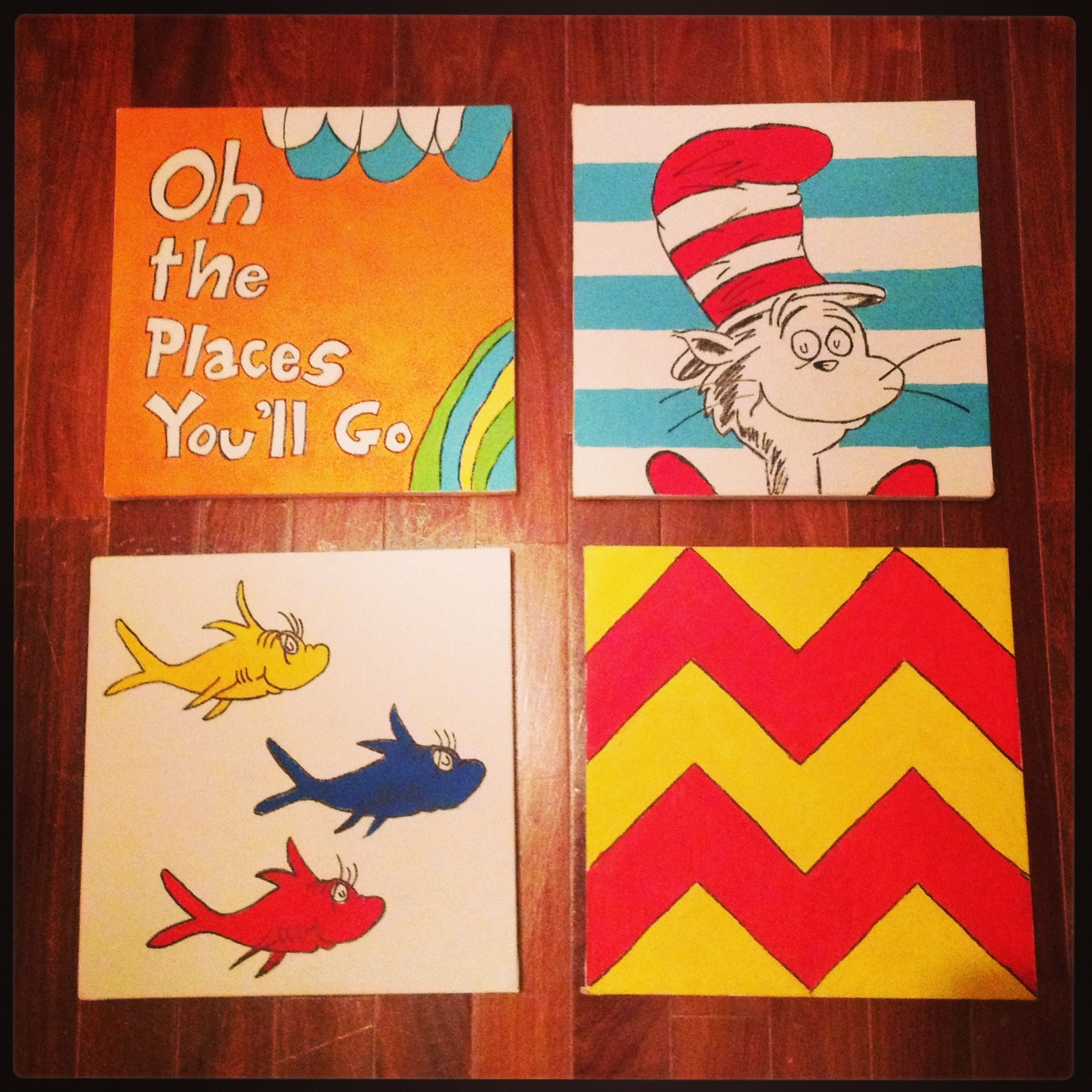 Dr Seuss Wall Art Decor Doneme (oringinal Pinner) For Omar's Within Dr Seuss Wall Art (View 12 of 20)