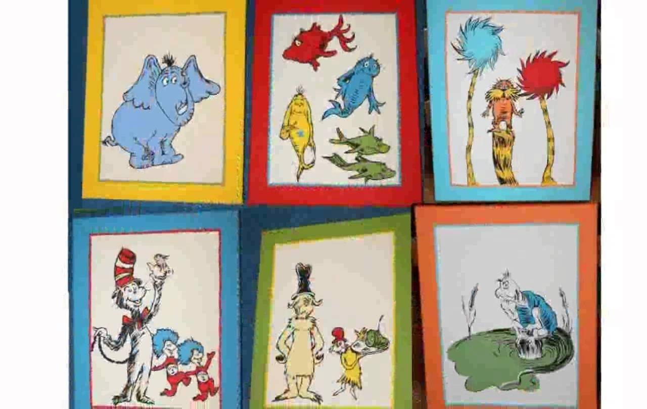 Dr Seuss Wall Art – Youtube Regarding Dr Seuss Wall Art (View 6 of 20)