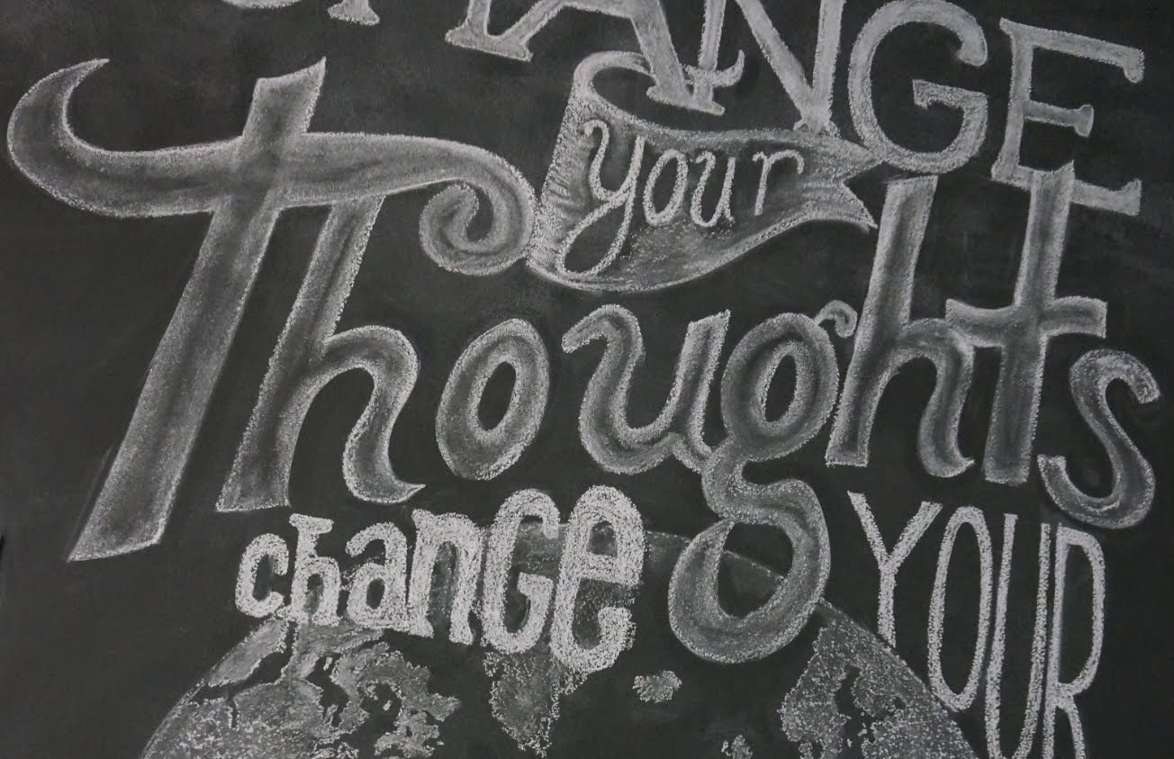 Draw & Write Beautifully On Your Chalkboard Wall! | Superholly - Youtube for Chalkboard Wall Art (Image 11 of 20)
