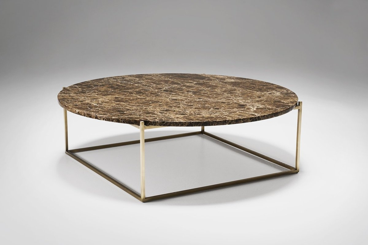 "Drechsel Studio On Twitter: ""a Slim Delicate Structure Suspends A in Suspend Ii Marble and Wood Coffee Tables (Image 6 of 30)"