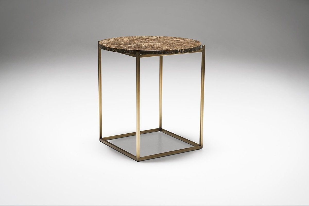 "Drechsel Studio On Twitter: ""a Slim Delicate Structure Suspends A pertaining to Suspend Ii Marble and Wood Coffee Tables (Image 7 of 30)"