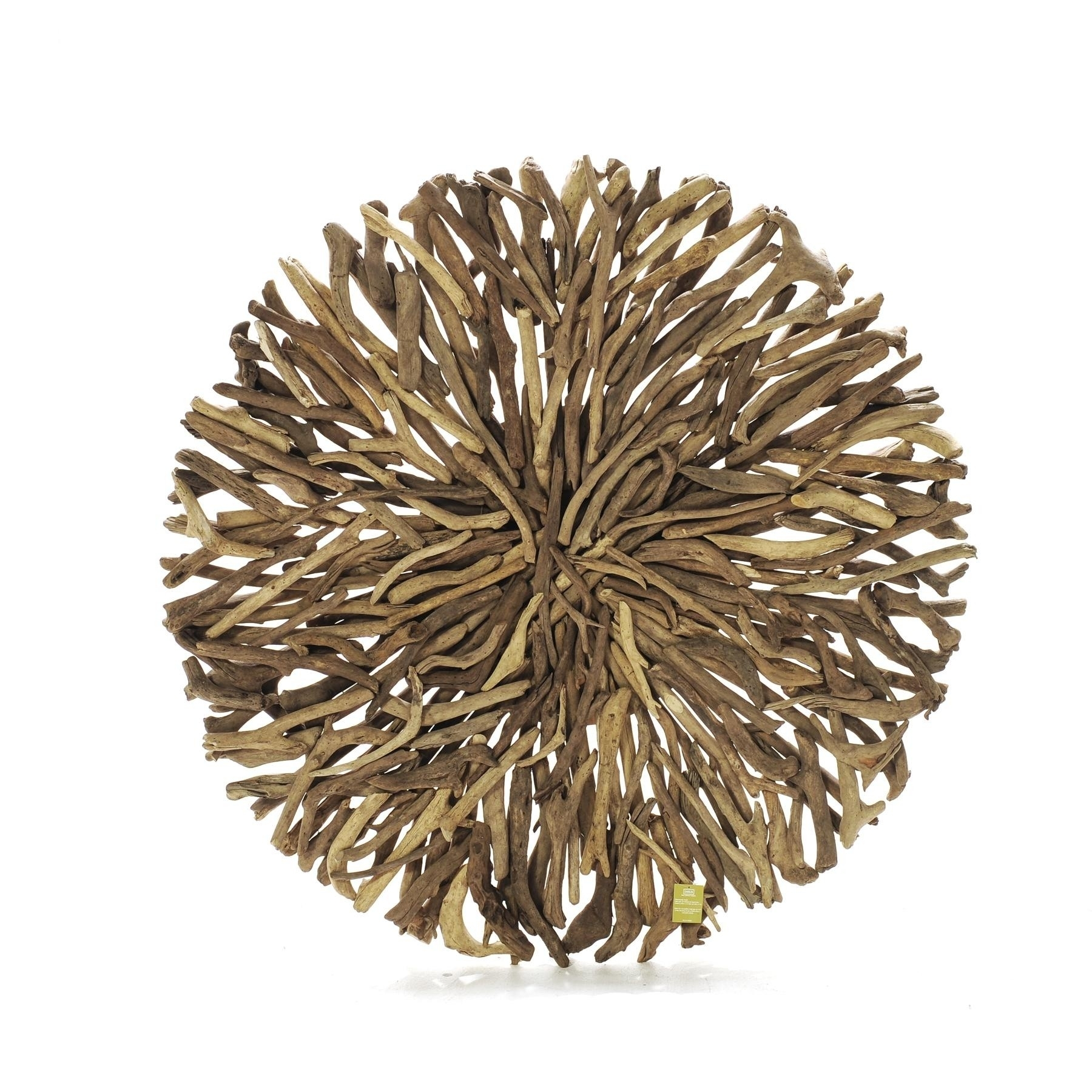 Driftwood Round Wall Art (in Store Only) – Seaweed And Sand Throughout Round Wall Art (View 3 of 20)