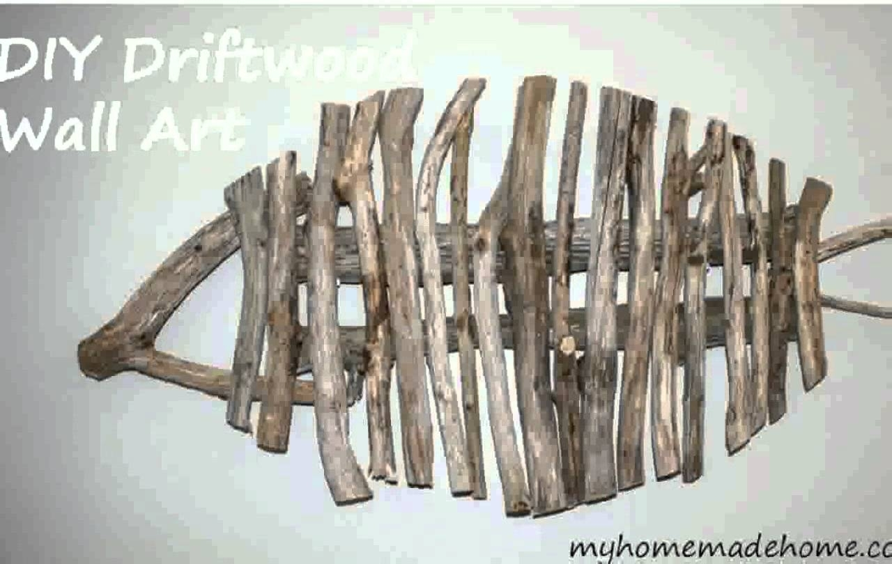 Driftwood Wall Art - Youtube within Driftwood Wall Art (Image 9 of 20)