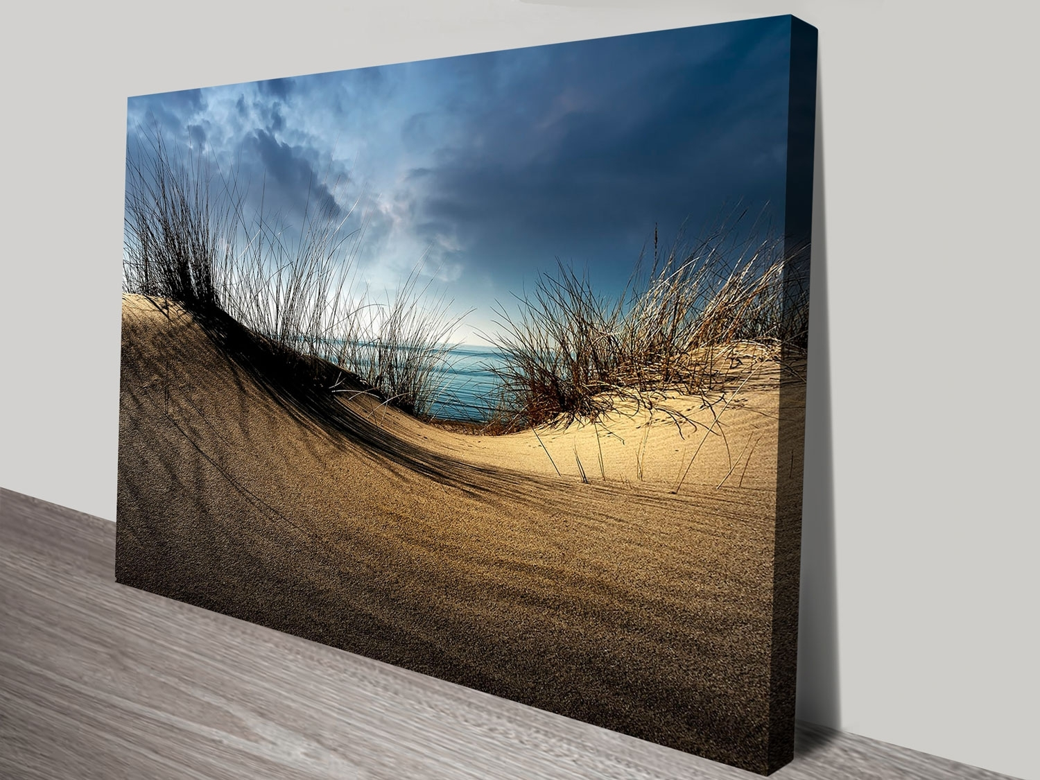 Dunesthe Ocean Framed Print | Canvas Wall Art Printing Carlton with regard to Ocean Wall Art (Image 12 of 20)