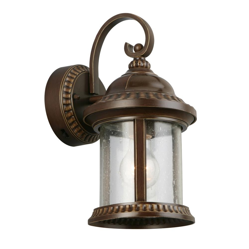 Dusk To Dawn - Outdoor Wall Mounted Lighting - Outdoor Lighting inside Outdoor Lanterns On Stands (Image 2 of 20)
