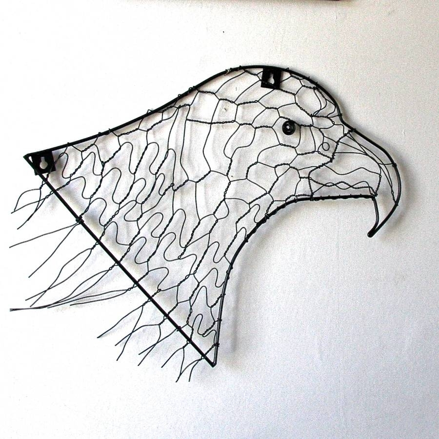 Eagle Wire Wall Artlondon Garden Trading | Notonthehighstreet For Wire Wall Art (Photo 6 of 20)