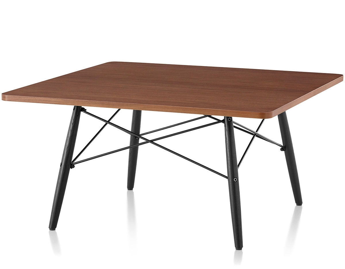 Eames® Square Coffee Table   Hivemodern With Expressionist Coffee Tables (Photo 10 of 30)