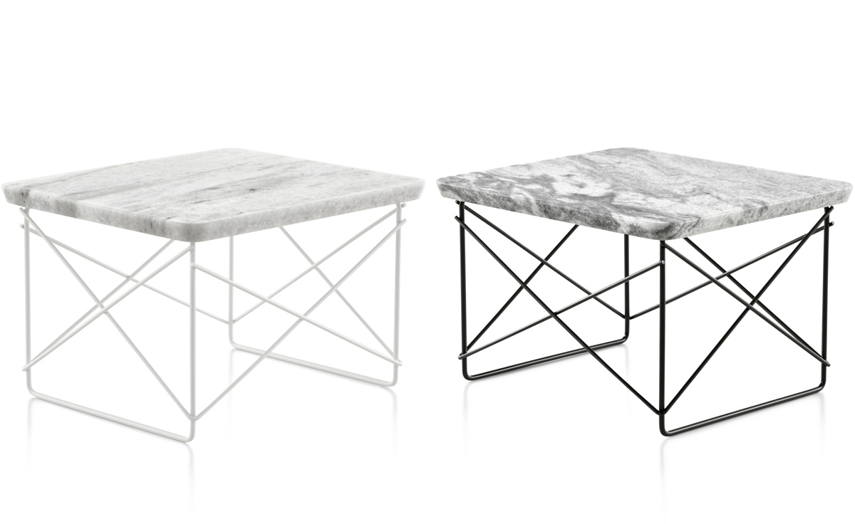 Eames® Wire Base Low Table   Hivemodern Regarding Black Wire Coffee Tables (Photo 30 of 30)