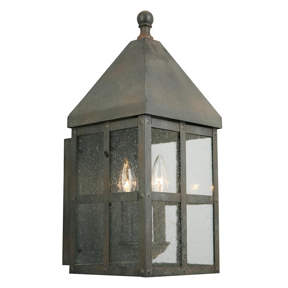 Eglo Creston Creek 3-Light Zinc Outdoor Wall Mount-202884A - The inside Zinc Outdoor Lanterns (Image 5 of 20)