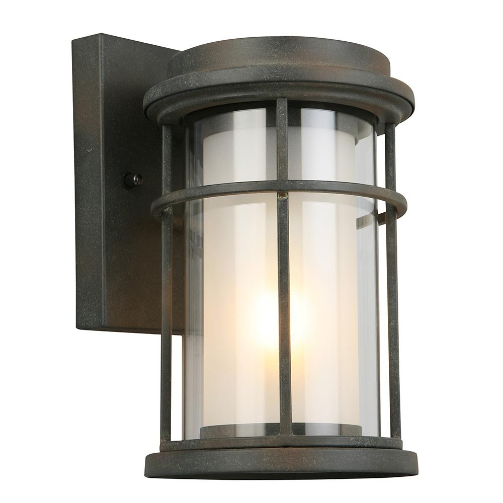 Eglo Helendale 1 Light Zinc Outdoor Wall Mount Lantern 203023A   The Pertaining To Zinc Outdoor Lanterns (Photo 5 of 20)