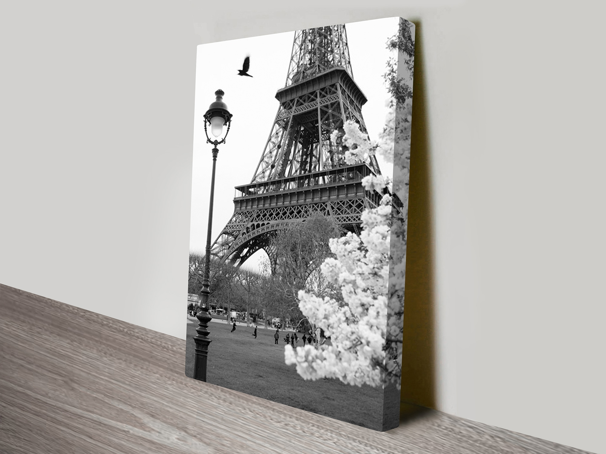 Eiffel Tower Portrait Canvas Artwork With Eiffel Tower Wall Art (Photo 5 of 20)