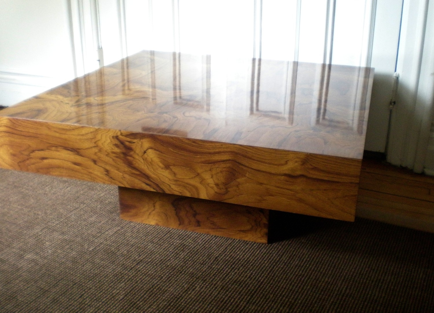 Elegant Burl Wood Coffee Table With Coffee Table Affordable Regarding Faux Bois Coffee Tables (Photo 28 of 30)