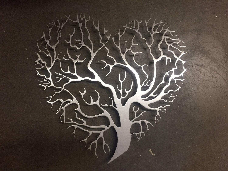 Elegant Metal Tree Wall Decor | Wall Art Ideas With Regard To Metallic Wall Art (View 5 of 20)
