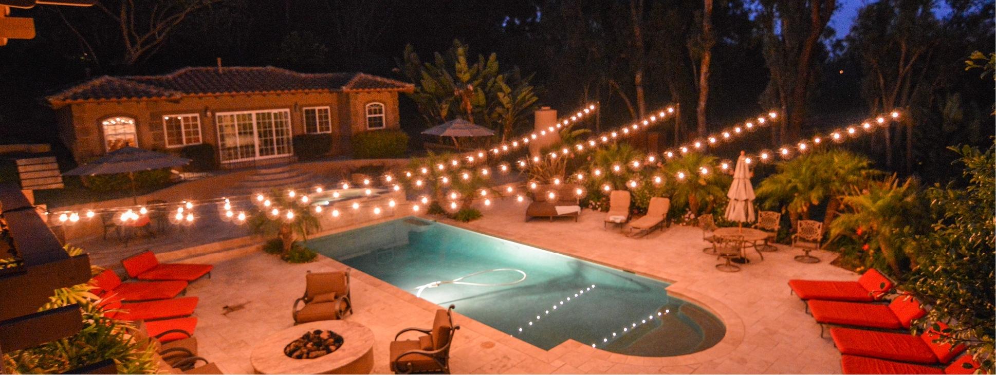 Elegant Patio String Lighting Backyard String Lighting Ardoros M26 for Outdoor String Lanterns (Image 9 of 20)