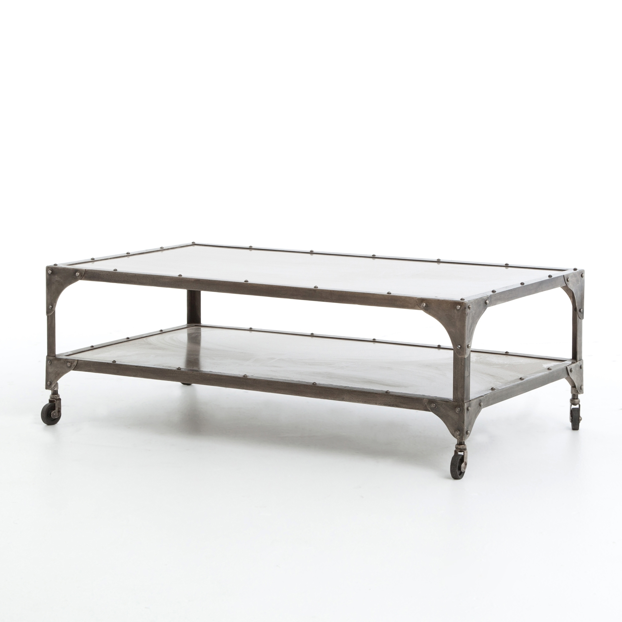 Element Coffee Table-Nickel/ant Nickel - Boulevard Urban Living for Element Coffee Tables (Image 23 of 30)