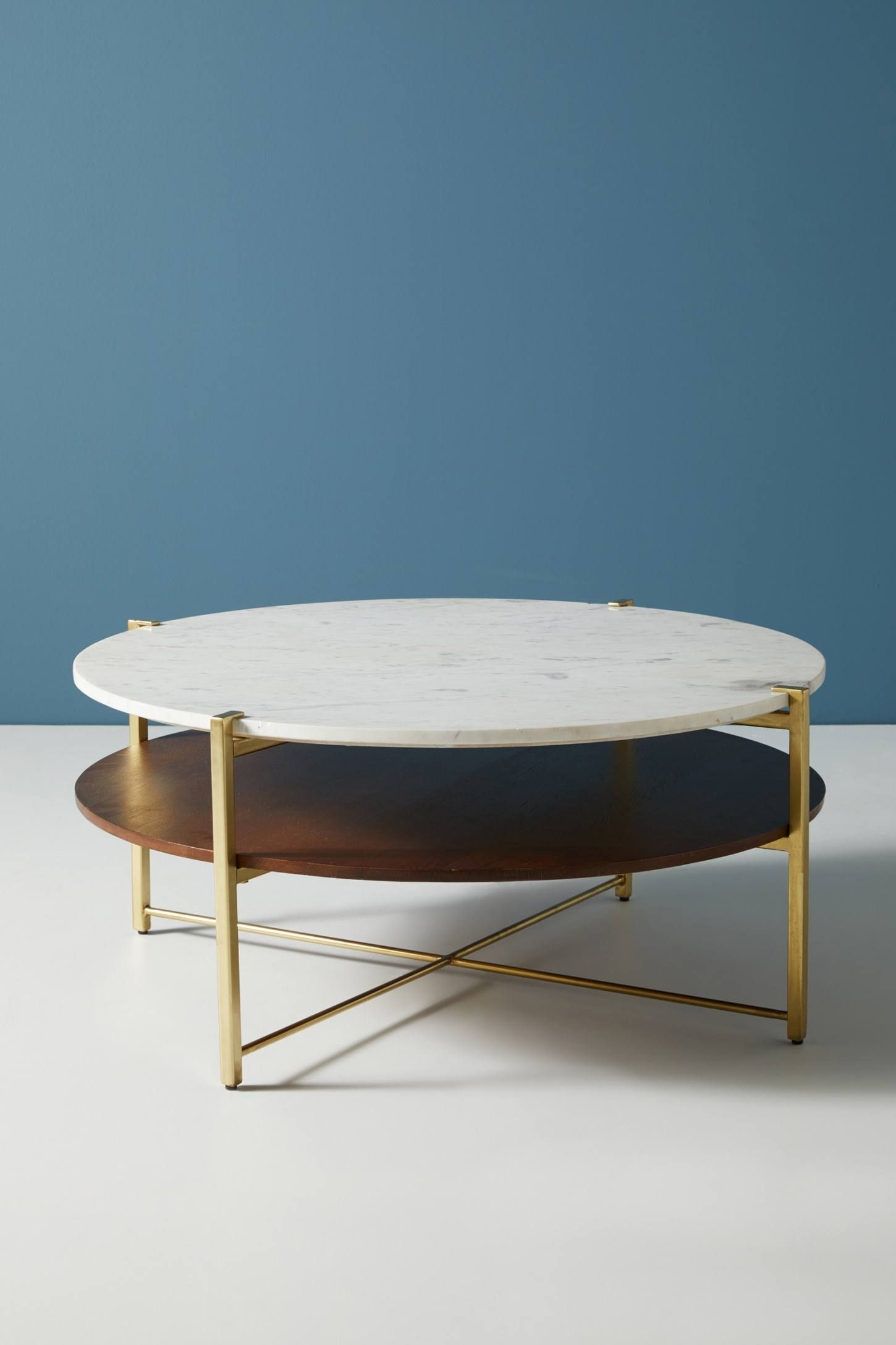 Elemental Coffee Table | Ben And Lauren Astoria | Pinterest | Living in Parker Oval Marble Coffee Tables (Image 5 of 30)