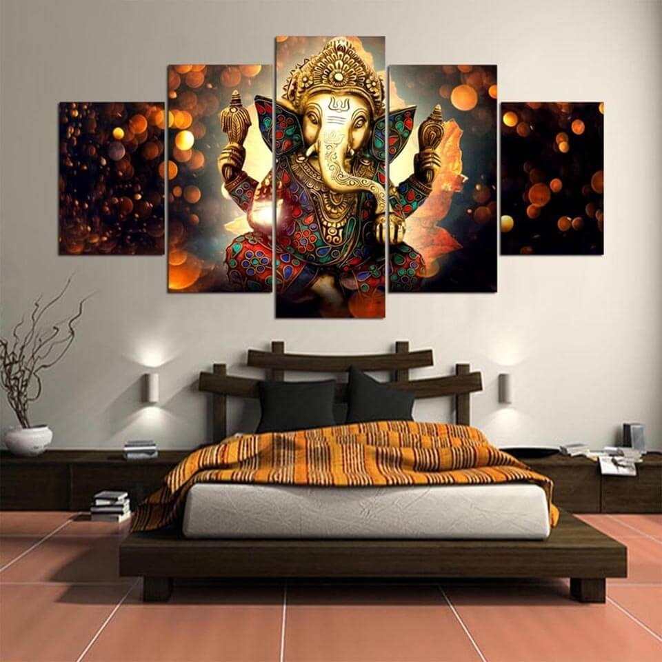 Elephant Canvas Wall Art Hd | Get Best Price At Addyzeal for Canvas Wall Art (Image 11 of 20)