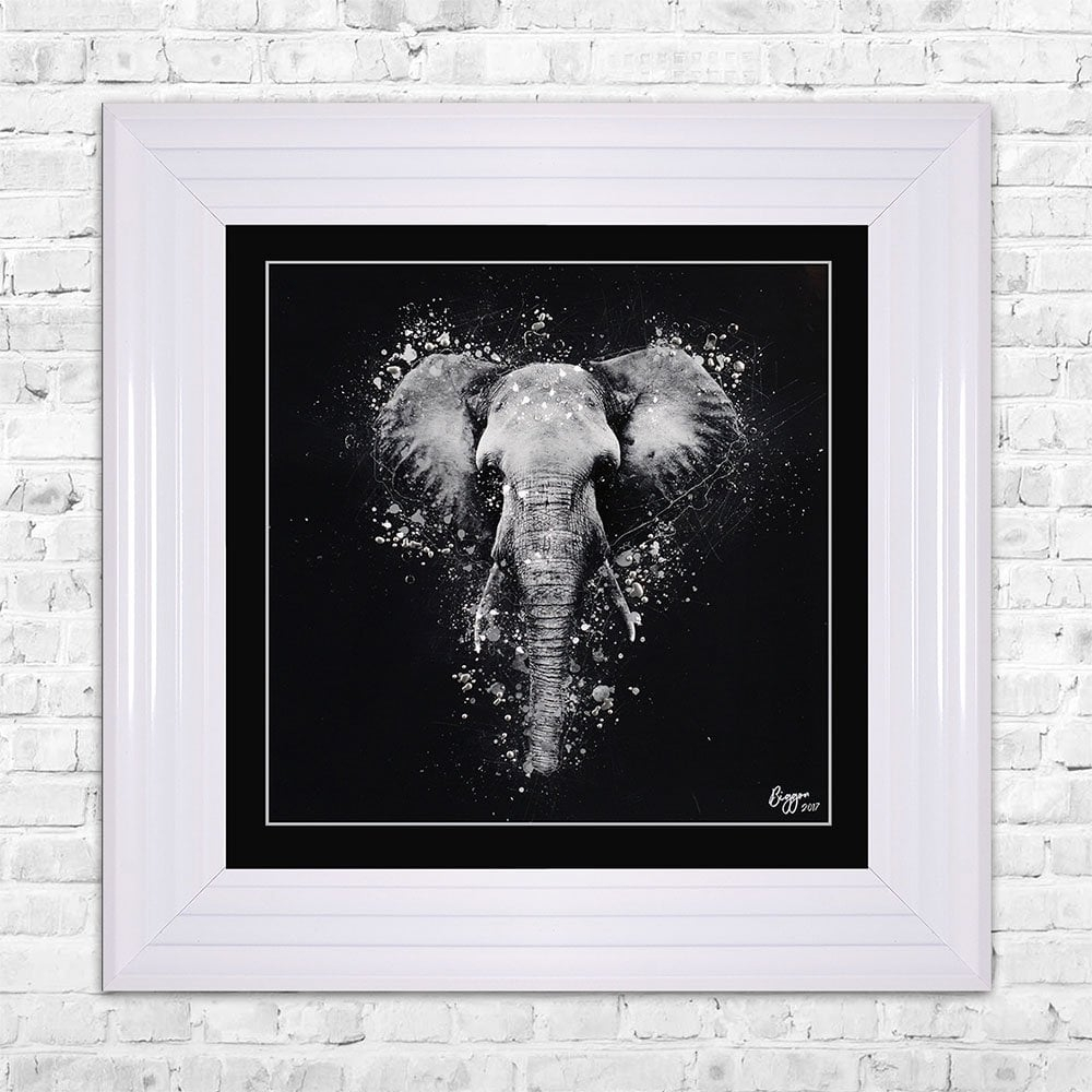 Elephant Wall Art | 55Cm X 55Cm With Elephant Wall Art (Photo 17 of 20)