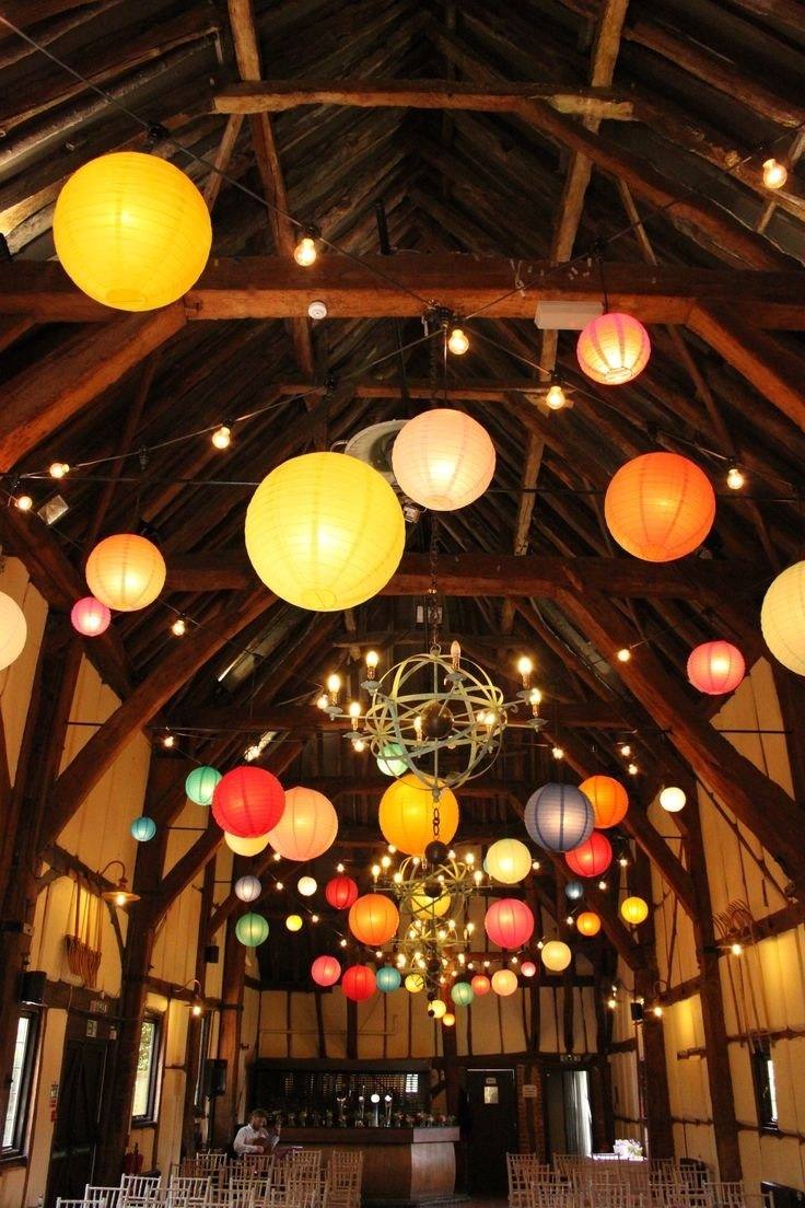 Encouragement Home Decorating Ideas String Lights String Lights Regarding Outdoor Paper Lanterns (Photo 1 of 20)