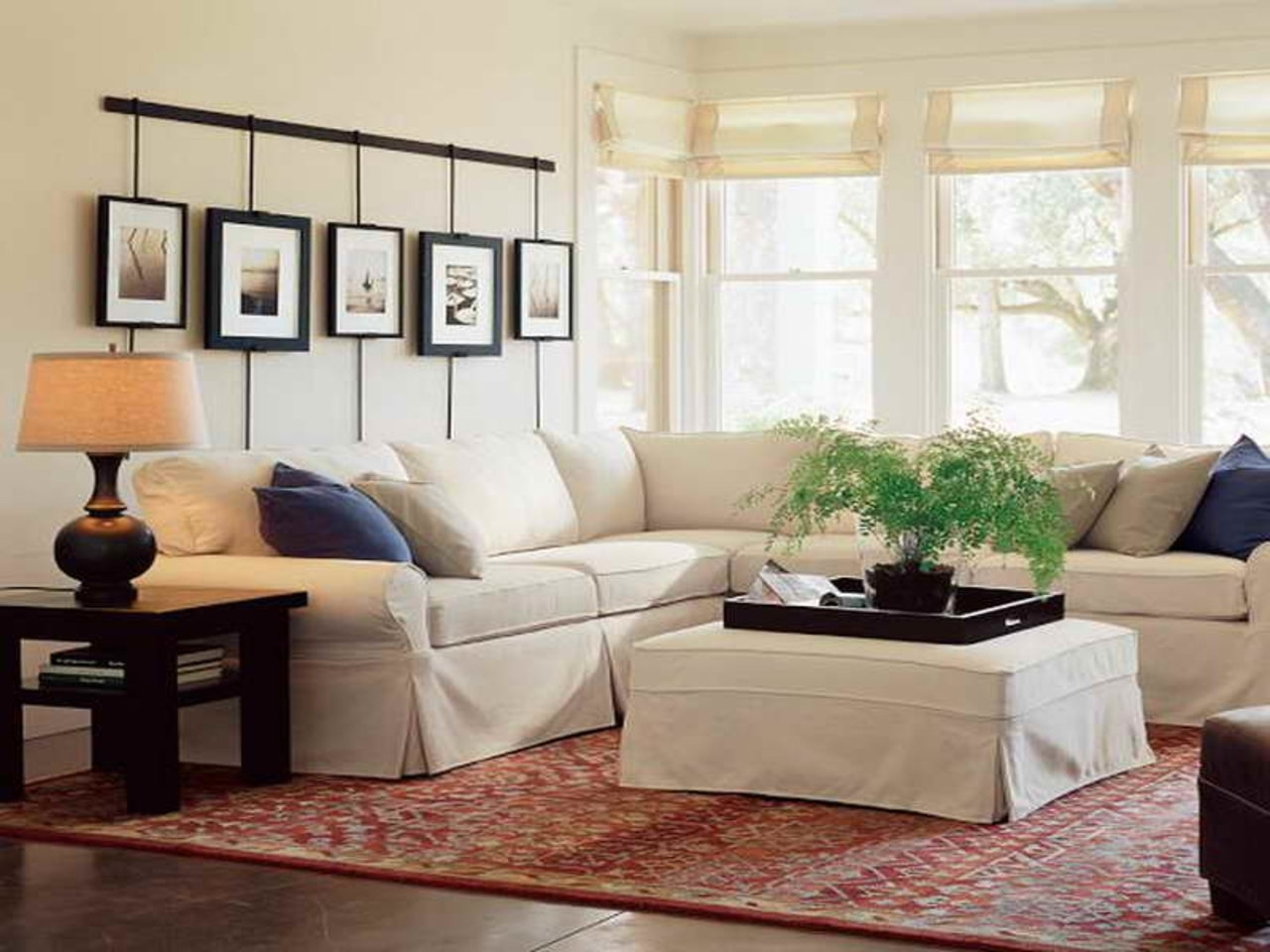 Engaging Pottery Barn Living Room Outstandingg Remarkable Style Just pertaining to Pottery Barn Wall Art (Image 8 of 20)