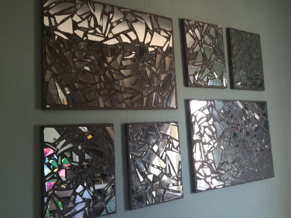 Ergonomic Mirror Mosaic Wall Art Diy Custom Mosai On Beach Style Within Mirror Mosaic Wall Art (View 19 of 20)