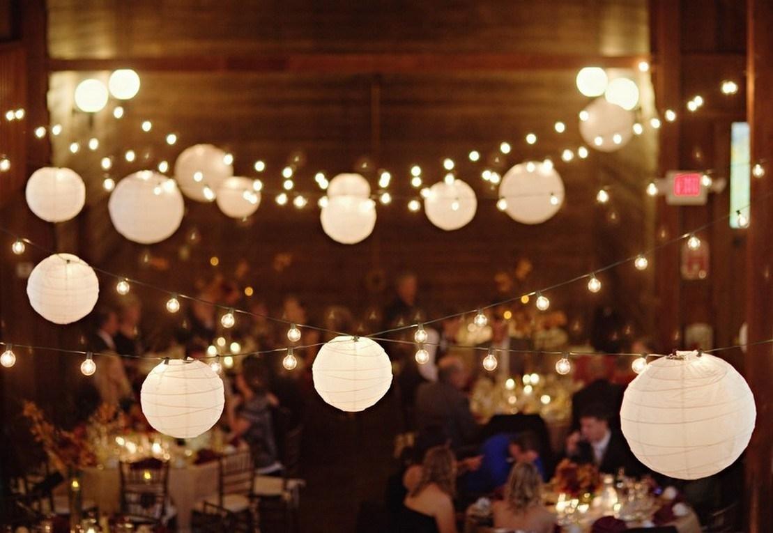 Especial Hot Pcs Chinese Hanging Paper Lanterns Roundlamp Wedding throughout Outdoor Paper Lanterns (Image 11 of 20)