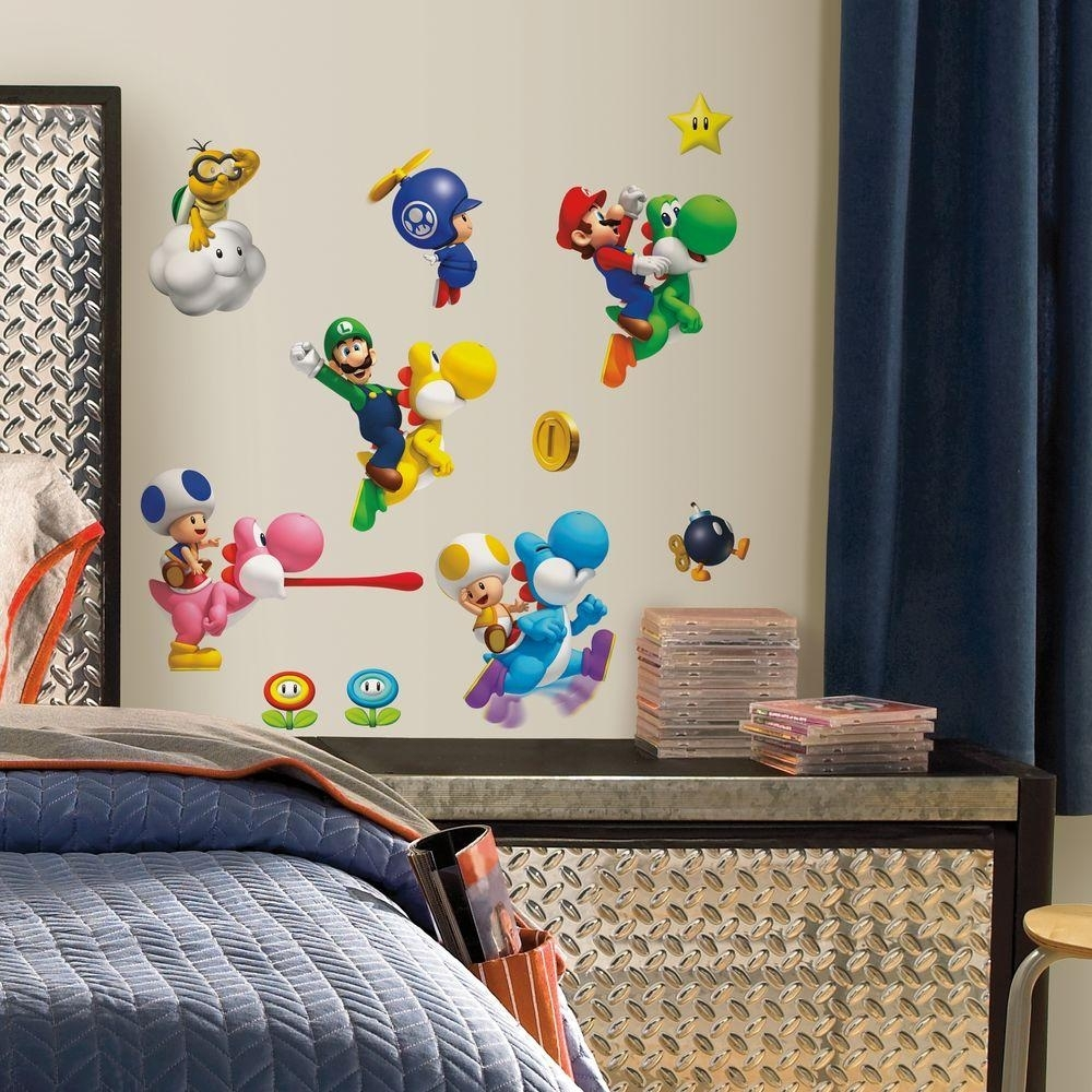 Excellent Design Ideas Nintendo Wall Art   Ishlepark Throughout Nintendo Wall Art (Photo 4 of 20)