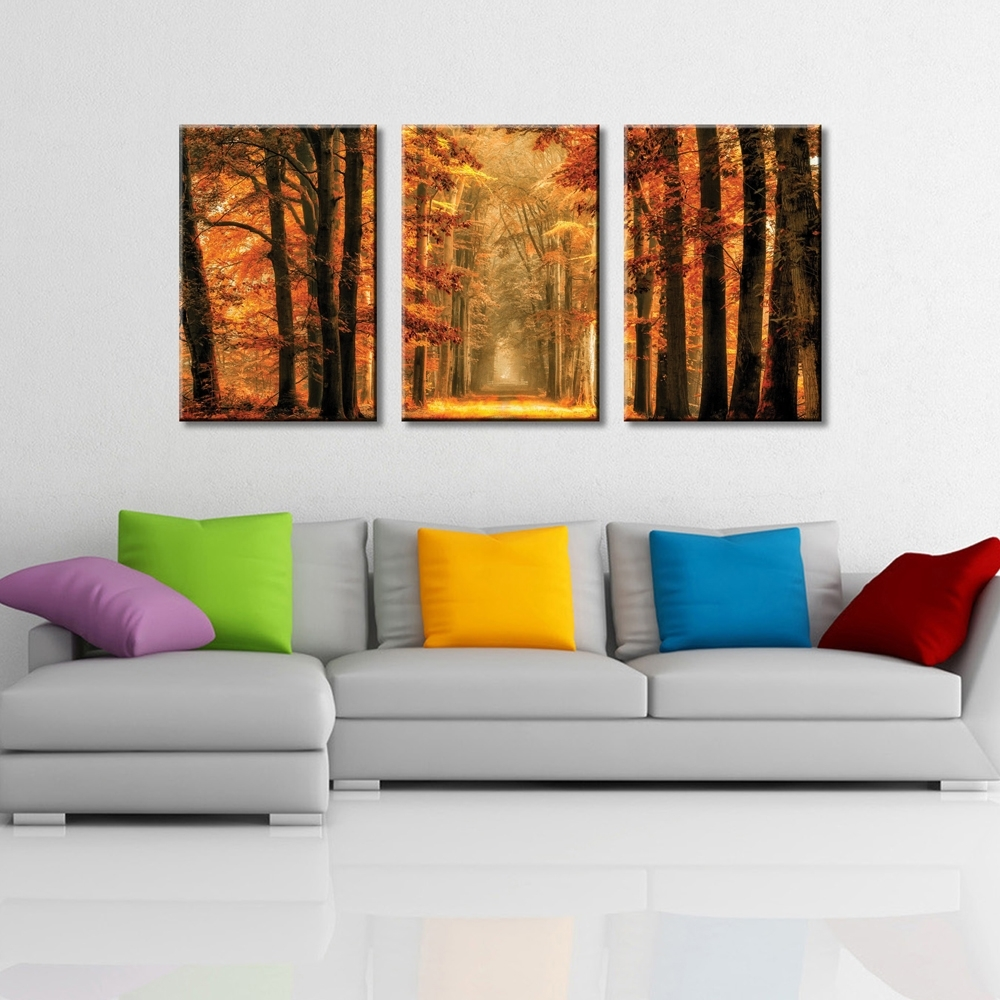 Exit The Portal Triptych Wall Art | Canvas Prints Australia with Triptych Wall Art (Image 13 of 20)