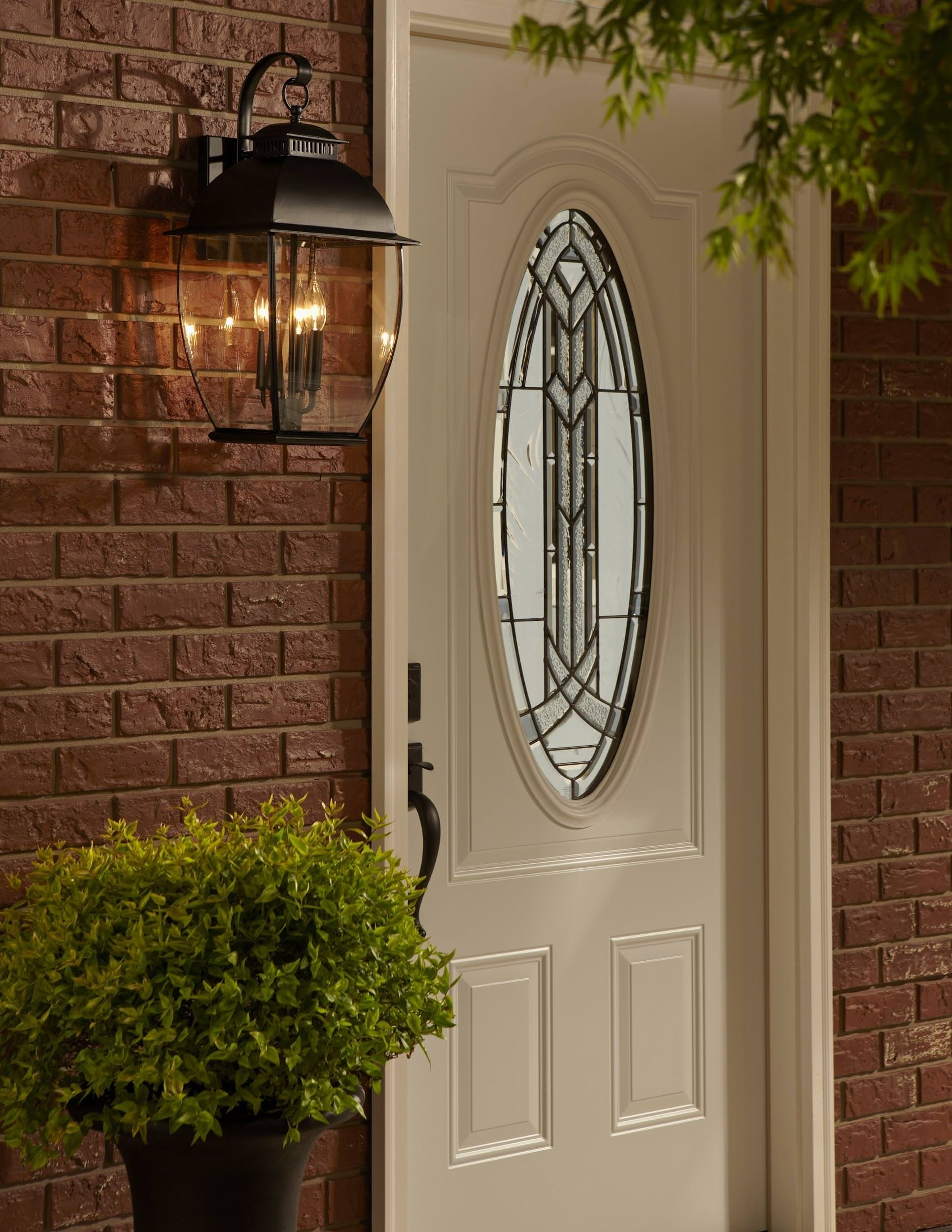 Exterior Front Door Lights | Tyres2C throughout Outdoor Door Lanterns (Image 6 of 20)