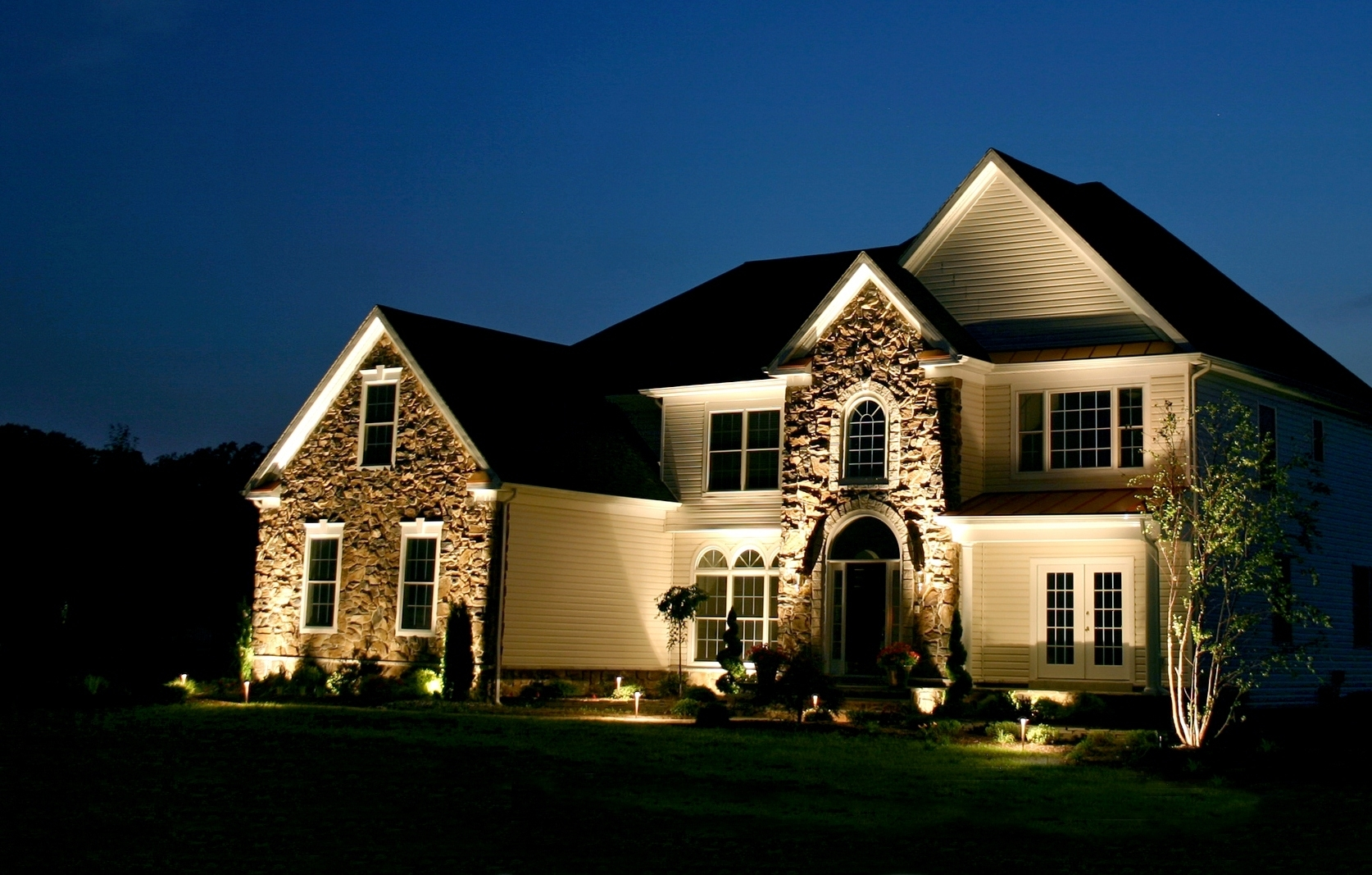 Exterior Lights For House – Pixball In Outdoor Lanterns For House (Gallery 8 of 20)