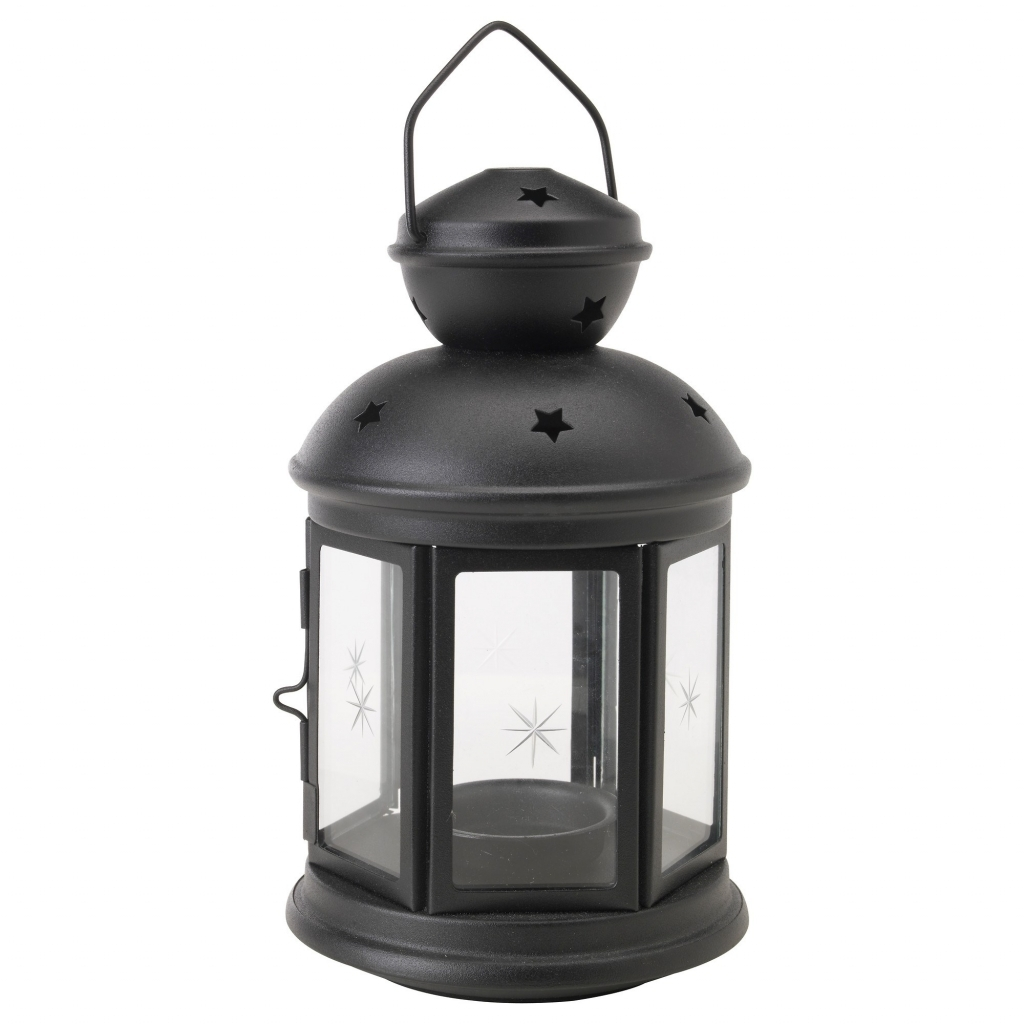 Exterior: Outdoor Decorative Lantern Lovely Rotera Lantern Black 21 Within Large Outdoor Decorative Lanterns (Photo 9 of 20)