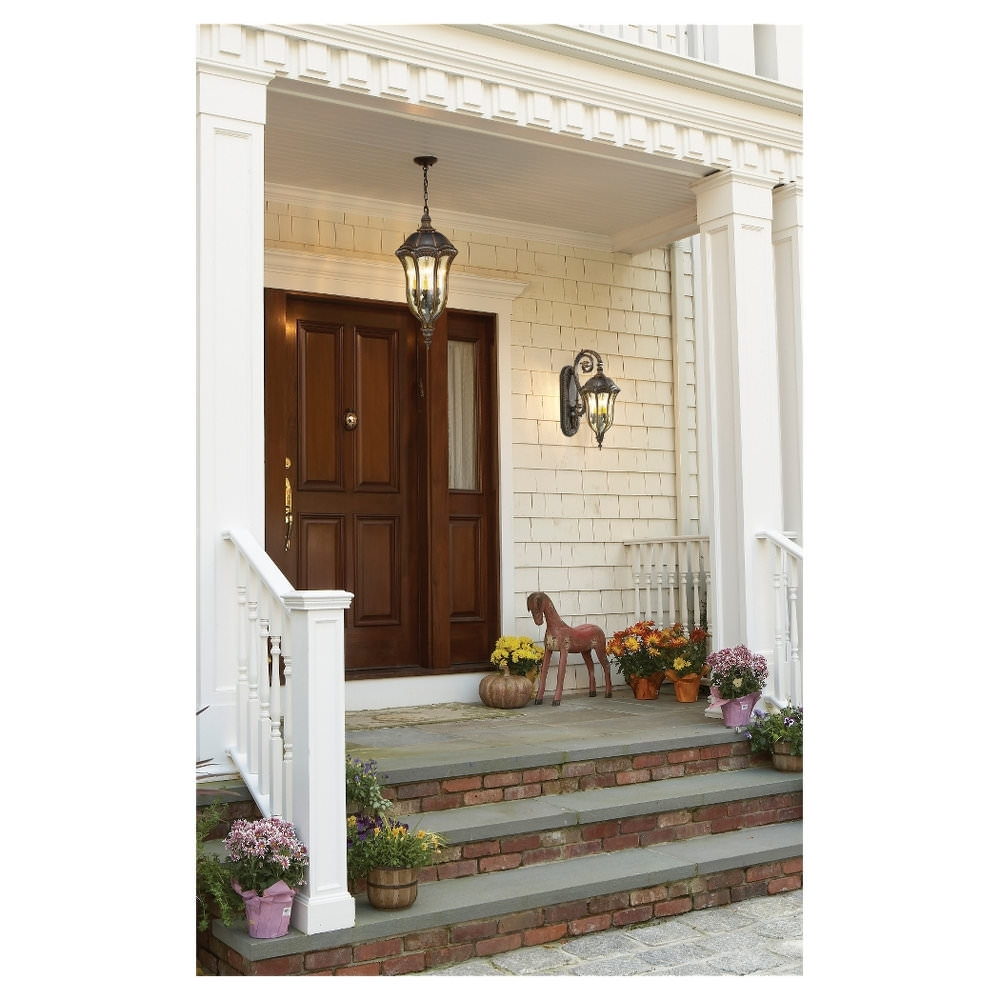 Exterior Porch Lighting Front Patio Ideas Outside Ceiling Lights Inside Outdoor Entrance Lanterns (View 7 of 20)