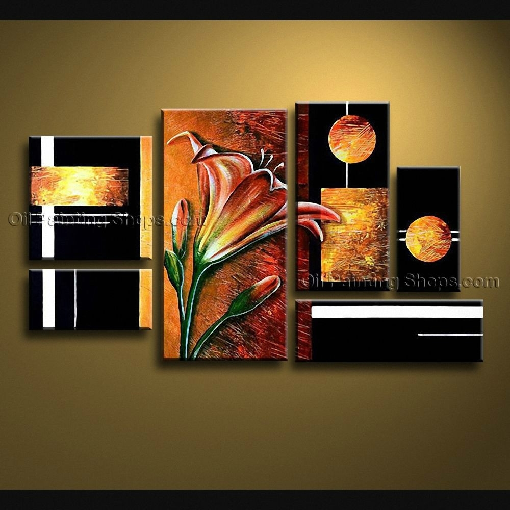 Extra Large Canvas Wall Art Contemporary For Living Room, Oversized With Regard To Large Canvas Painting Wall Art (Photo 3 of 20)