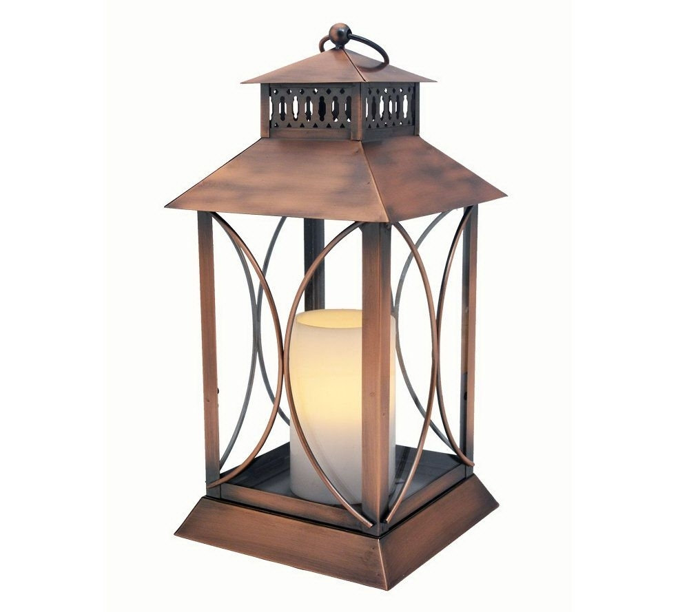 Extra Large Outdoor Candle Lanterns Interesting Lantern Floor Throughout Outdoor Lanterns With Battery Candles (Photo 11 of 20)