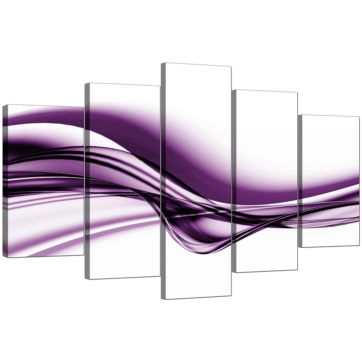 Extra Large Purple Abstract Superb Purple Canvas Wall Art   Wall Intended For Purple Wall Art Canvas (Photo 20 of 20)