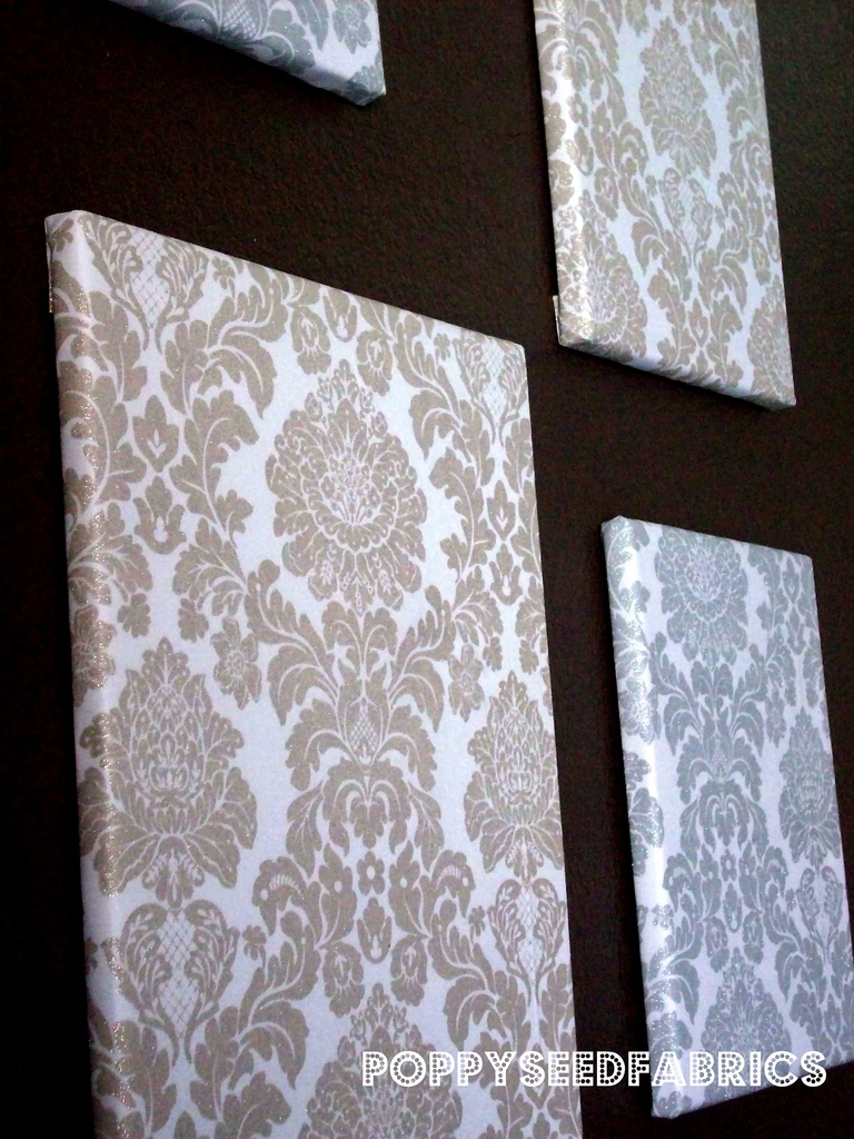 Fabric Wall Art | Love These Fabric Covered Wall Art I Just … | Flickr inside Fabric Wall Art (Image 10 of 20)