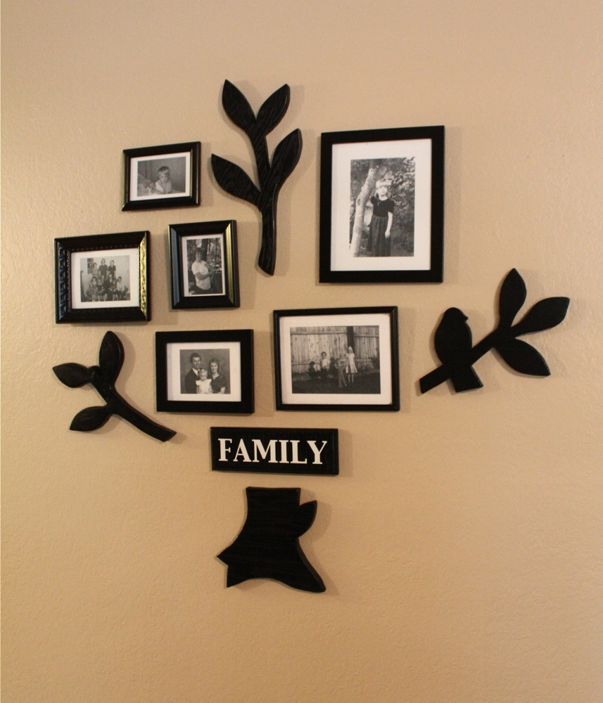 Family Wall Decor Awesome Make Bake Diy Family Wall Decor Design Inside Family Wall Art (View 18 of 20)