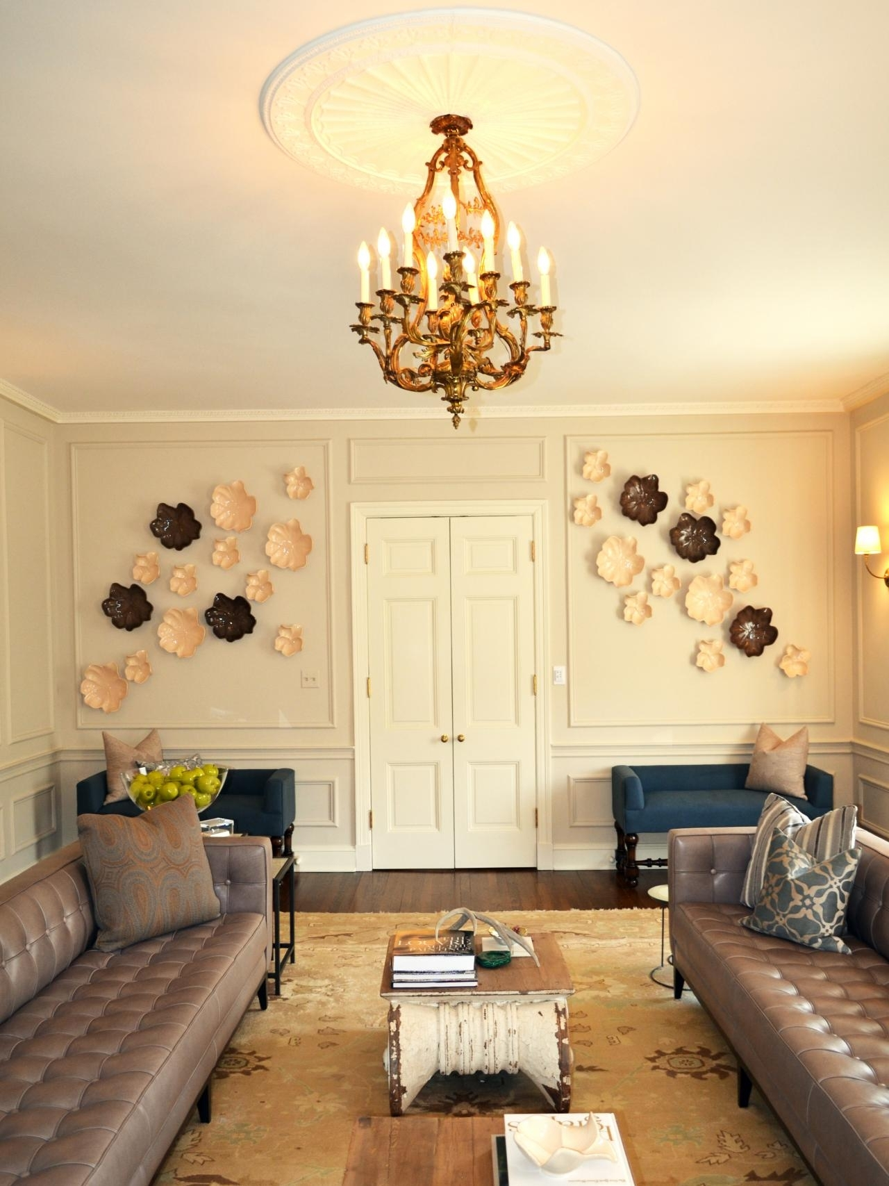 Fascinating 90 Ceiling Medallion Wall Art Decorating, Ceiling throughout Ceiling Medallion Wall Art (Image 13 of 20)