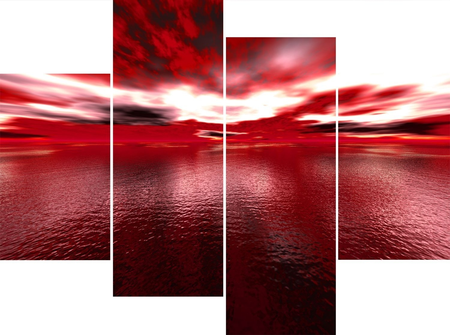 Fascinating Red Contemporary Canvas Wall Art In And Beige Velvet For Red And Black Canvas Wall Art (View 15 of 20)