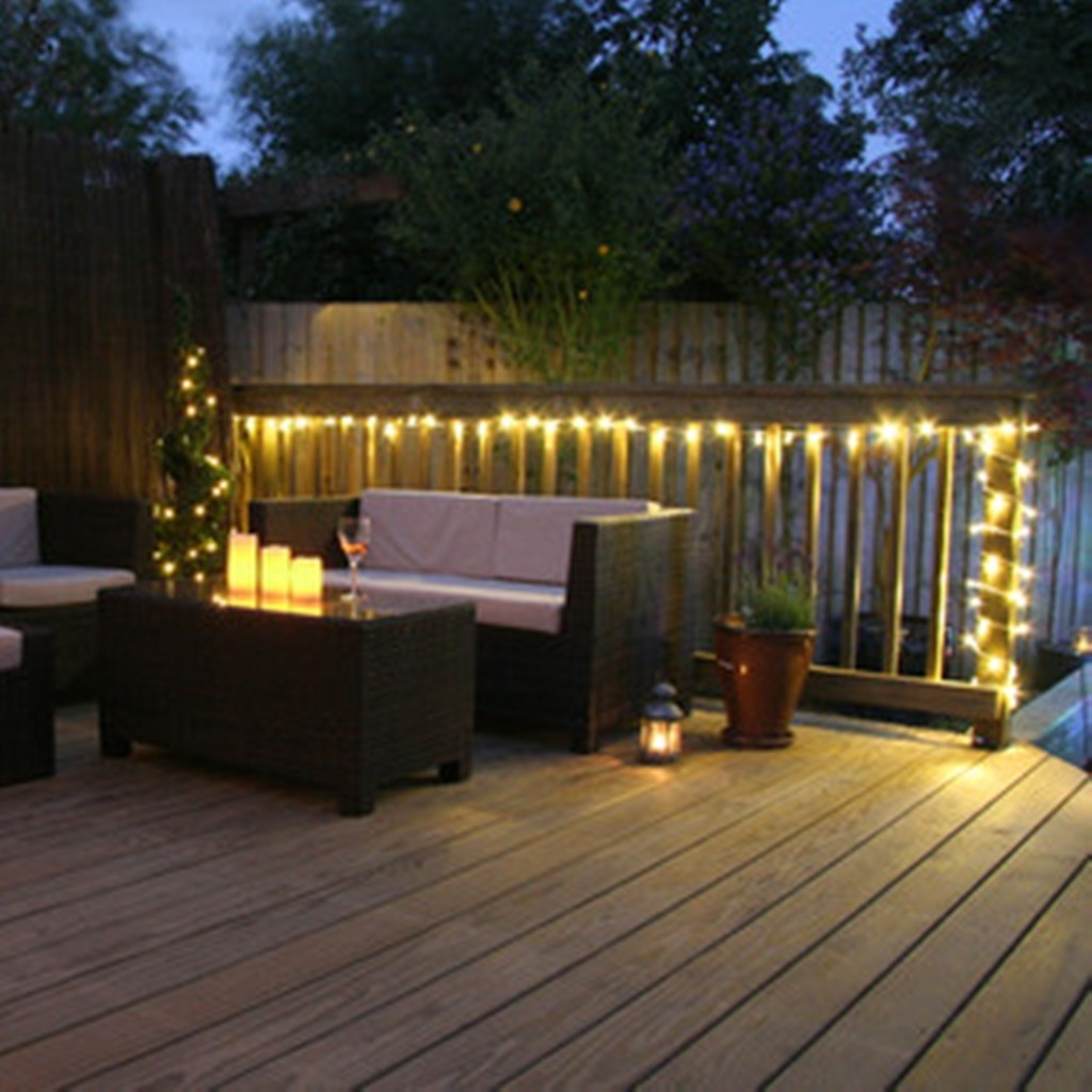 Fascinating String Lights For Deck Ideas Best Way Hangr And On Regarding Outdoor Lanterns For Deck (View 12 of 20)