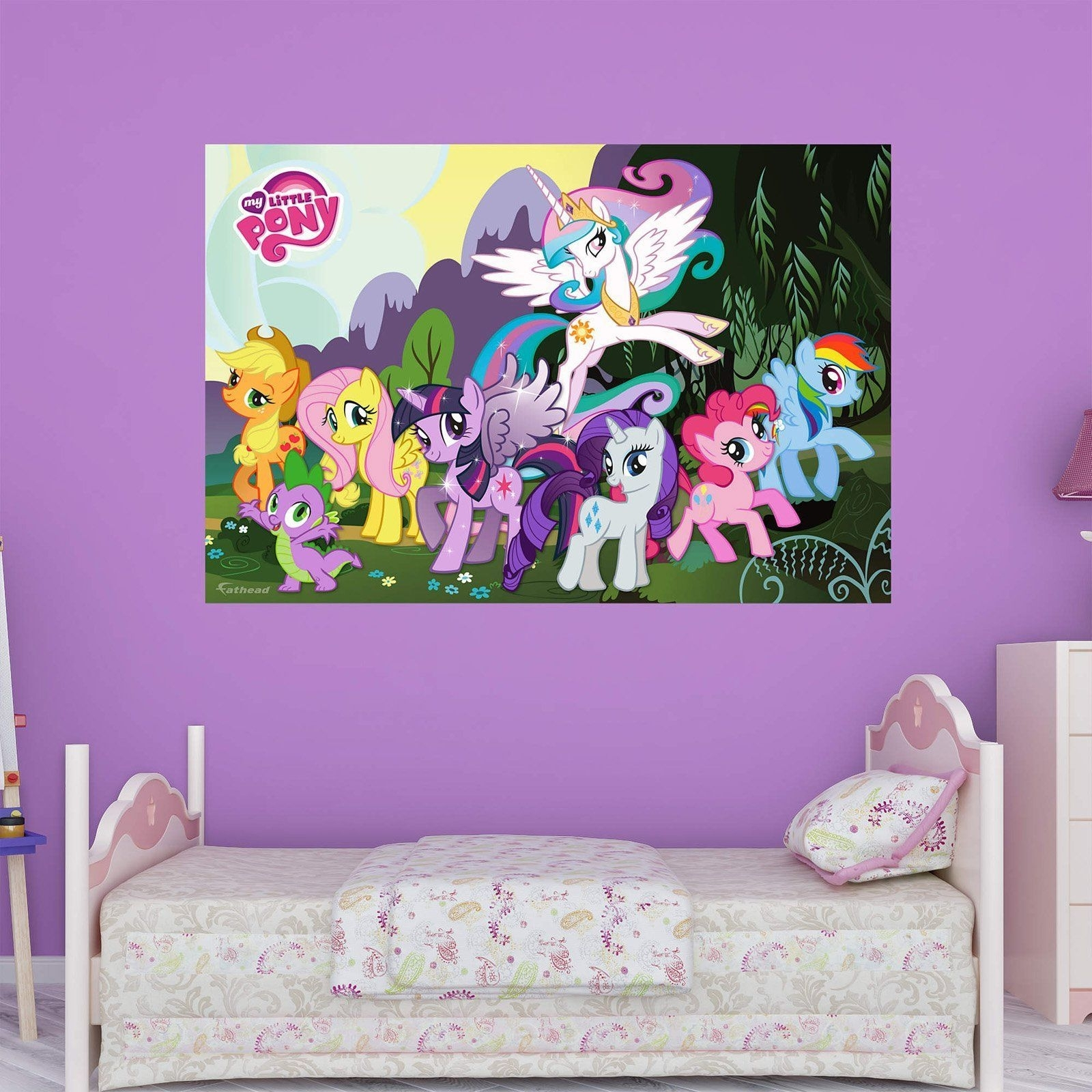 Fathead My Little Pony Wall Mural - 1030-00033 | Products for My Little Pony Wall Art (Image 4 of 20)