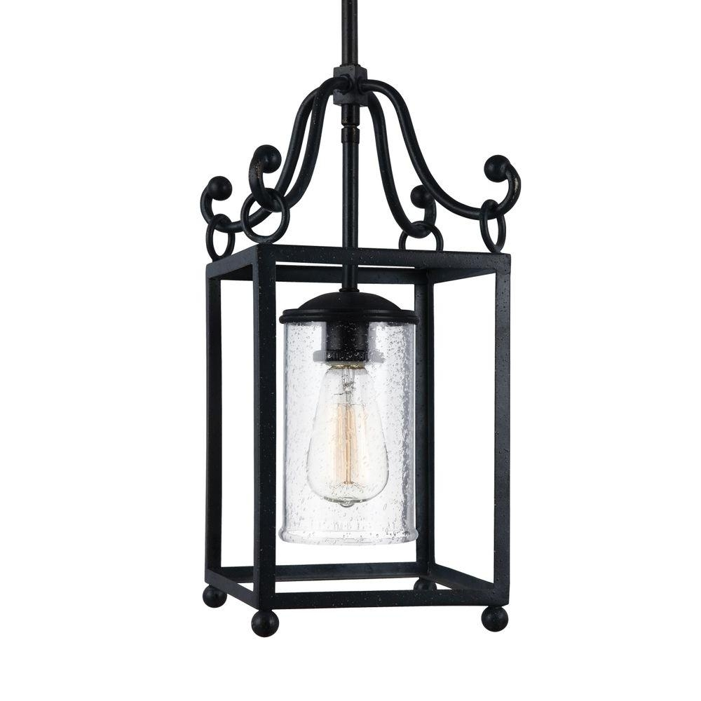Feiss Declaration Light Antique Forged Iron Wall Sconce Pendant for Colorful Outdoor Lanterns (Image 10 of 20)